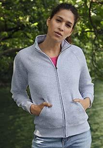 Ladies' Classic Full Zip Sweat Jacket (62-116-0)