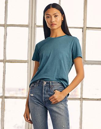 Crew neck t-shirt Heather