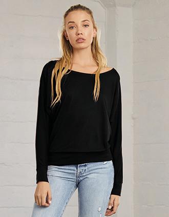 Flowy Long-sleeved Dolman T-shirt