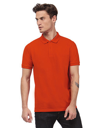 Men's organic polo shirt