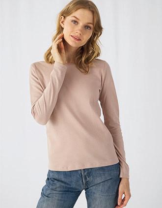 #E150 Ladies' T-shirt long sleeves