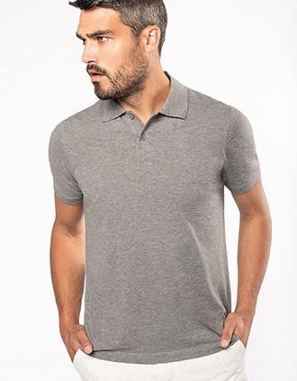 Men's Organic 180 piqué polo shirt