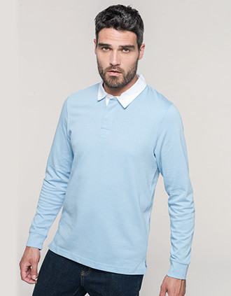 Rugby polo shirt