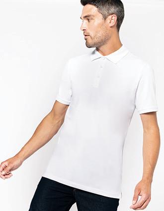 Mike > Men's short-sleeved polo shirt