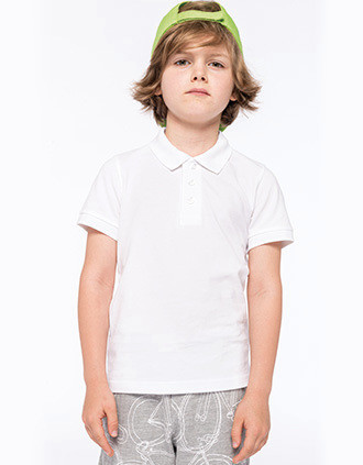 KIDS' POLO SHIRT WASHABLE AT 60°