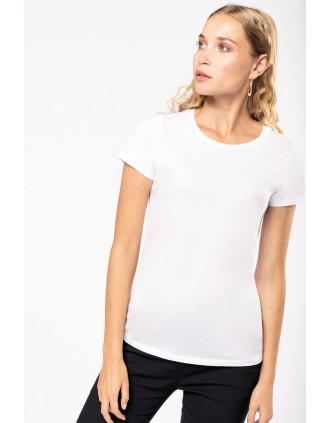 Ladies' Supima® crew neck short sleeve t-shirt
