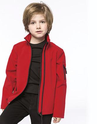 Kids' softshell jacket