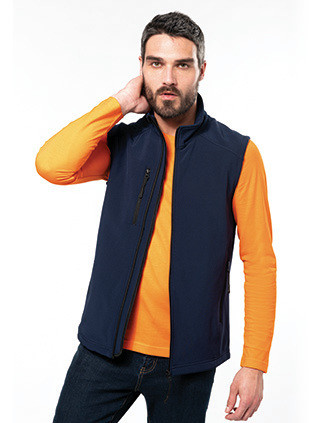Men's softshell bodywarmer
