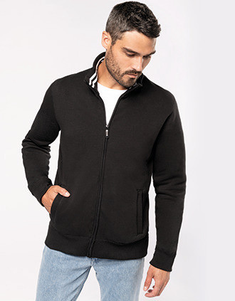 Men's full zip sweat jacket
