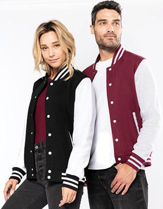 Unisex teddy fleece jacket