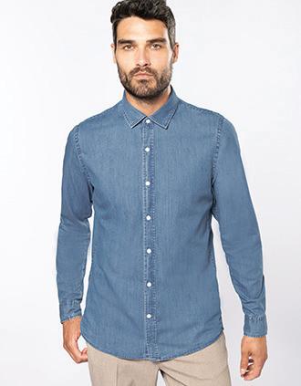 Men's denim shirt