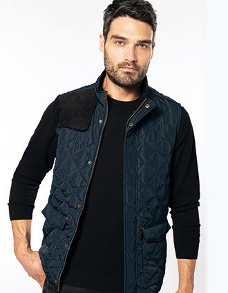 Men's quilted bodywarmer