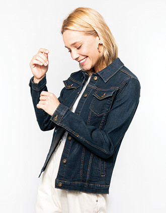 Ladies' unlined denim jacket