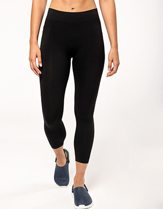 Ladies' seamless 7/8 leggings