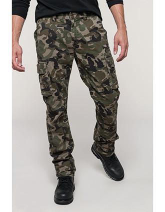 Men's multipocket trousers