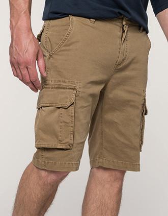 Men's multipocket bermuda shorts