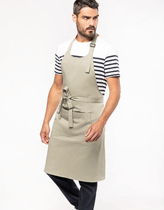 Organic Cotton Apron with pocket