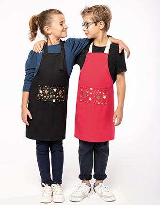 "Kids' Christmas apron ""Origine France Garantie"""