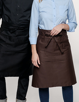 Polycotton long apron