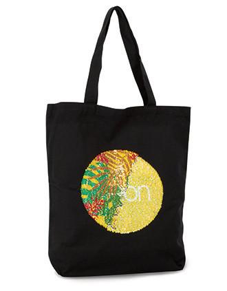 SEQUIN SHOPPER BAG