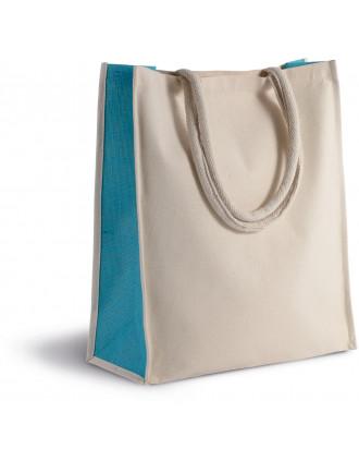 Cotton/jute tote bag - 23L