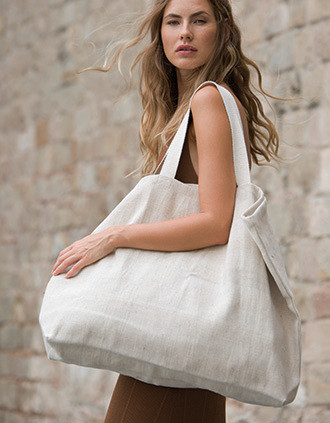 RUSTIC JUCO LARGE HOLD-ALL SHOPPER BAG
