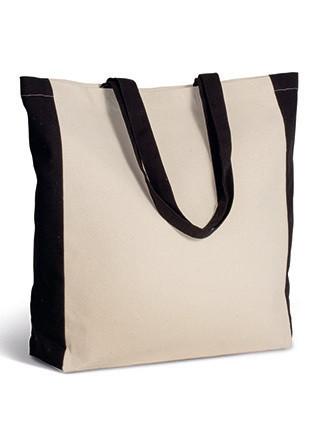 Two-tone tote bag