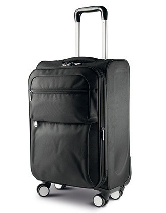 Trolley bag with gusset