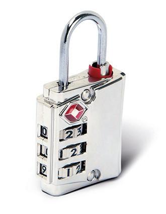 TSA padlock in zinc alloy