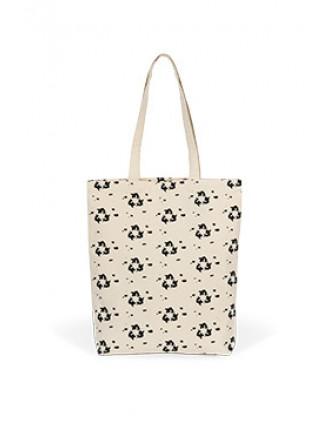 Patterned shopping bag