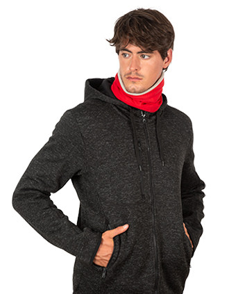 Fleece-lined neckwarmer