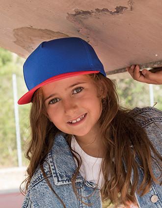 Kids' snapback cap - 5 panels