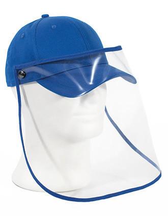 Cap with transparent visor