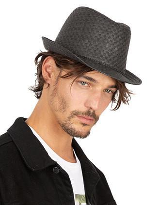 Retro Panama-style straw hat