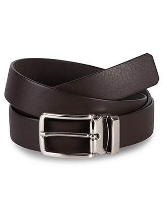 Classic belt in full grain leather - 30 mm