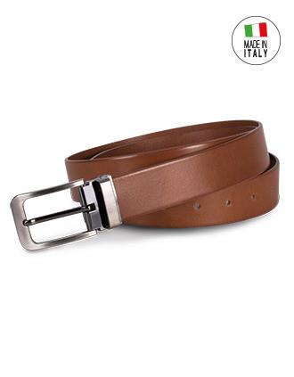 Classic leather belt - 35 mm
