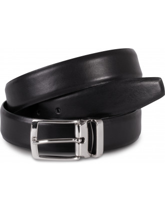 Leather belt - 30 mm