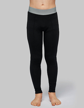 Kids' base layer sports leggings