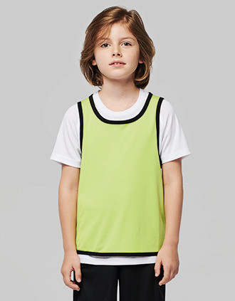 Kids' reversible rugby bib