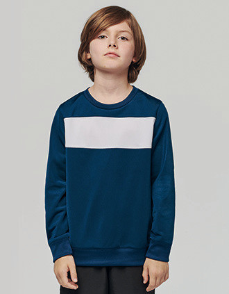 Kids' polyester sweat-shirt