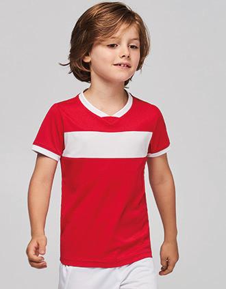 Kids' short-sleeved jersey
