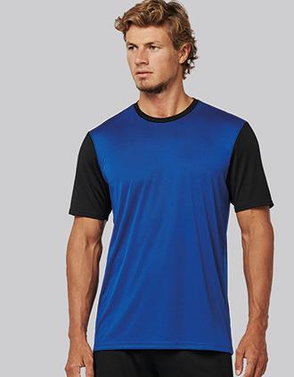 Adults' Bicolour short-sleeved t-shirt