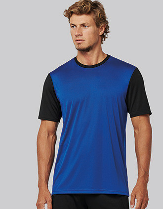 Adults' Bicolour short-sleeved t-shirt