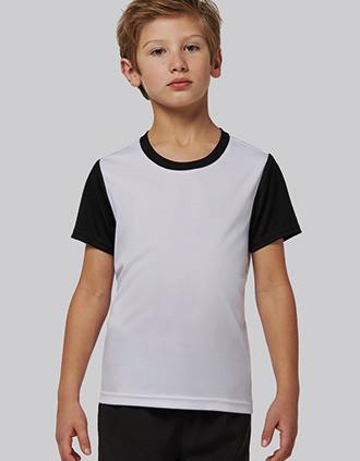 Children's Bicolour short-sleeved t-shirt