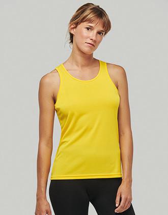 Ladies' sports vest