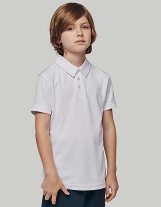 Kids' SHORT-SLEEVED polo shirt