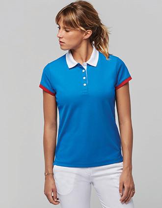 Ladies' performance piqué polo shirt