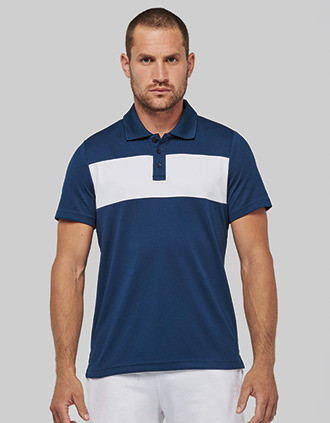 Adult short-sleeved polo-shirt