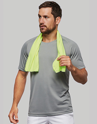 Refreshing sports towel