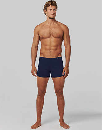 Men's swim boxer trunks